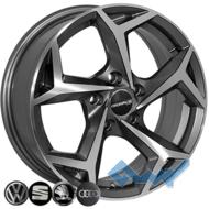 Zorat Wheels BK5340 6.5x16 5x112 ET40 DIA57.1 GP