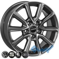 Zorat Wheels BK5344 6.5x16 5x112 ET40 DIA57.1 GP