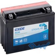 Exide ETX24HL-BS 21Ah 350A 12V R евро Обсл.