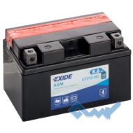 Exide ETZ10-BS 8.6Ah 145A 12V L азия Обсл.