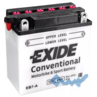 Exide EB7-A 8Ah 85A 12V L азия Обсл.