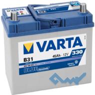 VARTA (B31) BLUE dynamic 45Ah 330A 12V R (129x227x238)