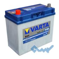VARTA (B34) BLUE dynamic 45Ah 330A 12V L азия (129x227x238)