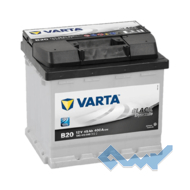 VARTA (B20) BLACK dynamic 45Ah 400A 12V L (175x190x207)
