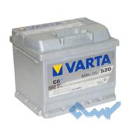 VARTA (C6) SILVER dynamic 52Ah 520A 12V R (175x175x207)