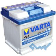 VARTA (C22) BLUE dynamic 52Ah 470A 12V R (175x190x207)