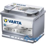 VARTA (D52) SILVER dynamic  60Ah 680A 12V R AGM (175x190x242)