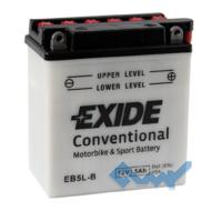 Exide EB5L-B 5Ah 65A 12V R евро Обсл.