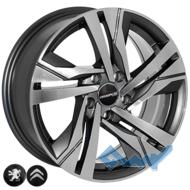 Zorat Wheels BK5543 7x16 5x108 ET45 DIA65.1 GP