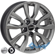 Zorat Wheels BK5504 7x17 5x110 ET40 DIA65.1 HB