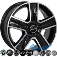 Zorat Wheels BK473 6.5x16 5x118 ET45 DIA71.1 BP