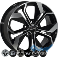 Zorat Wheels BK5168 7x17 5x114.3 ET45 DIA67.1 BP