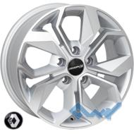 Zorat Wheels BK5168 6.5x15 5x108 ET44 DIA60.1 SP