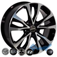 Zorat Wheels BK5212 6.5x16 5x98 ET39 DIA58.1 BP