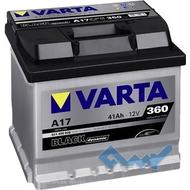 VARTA (A17) BLACK dynamic 41Ah 360A 12V R (175x175x207)