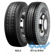 Dunlop SP 444 (ведущая) 245/70 R19.5 136/134M
